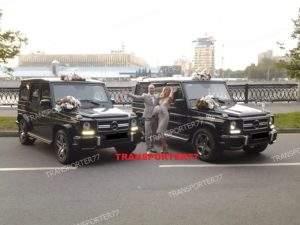 Аренда Гелендвагенов на свадьбу в Москве