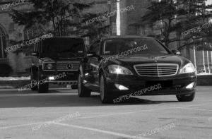 Mercedes сопровождаемый Gelandewagen