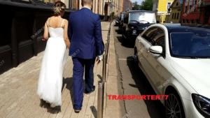 Свадебный кортеж Мерседеса и Гелендвагенов